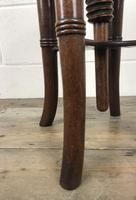 Antique Victorian Walnut Piano Stool (3 of 9)