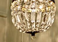 French Empire Style Tent Chandelier (5 of 7)