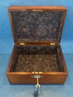 Victorian Rosewood Jewellery Box (15 of 15)