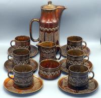 SylvaC Late 60's/early 70's 15 Piece 'totem' Pattern Coffee Set (2 of 10)