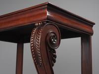 George III Mahogany Hall Table (10 of 13)
