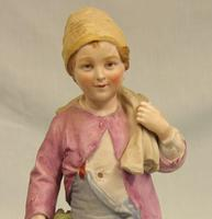 Bisque Figurine of Young Boy (8 of 14)