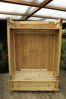 Fabulous & Large Old Pine Double 'Knock Down' Wardrobe - We Deliver! (10 of 18)