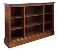 Mahogany Open Bookcase c.1900 (2 of 6)