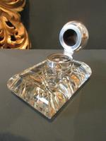 George V Period Solid Silver Pen & Inkstand (3 of 7)