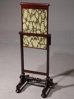 An Early Victorian Fire Screen with Movable Sections (2 of 5)