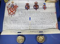 Queen Elizabeth II Grant for a Name & Coat of Arms (19 of 19)