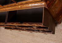 Dutch Bombe Bookcase Vitrine Display Cabinet on Chest Glazed (13 of 17)
