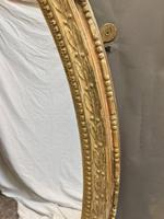 19th Century Ornate Oval Wall Mirror (2 of 16)
