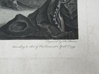 William Hogarth, Marriage-A-La-Mode, Plate 3, Engraved 1745, Original print (3 of 8)