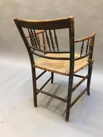 Regency Painted Sussex Chair (3 of 12)