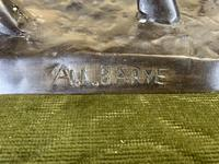 Bronze Sculpture of Bull Signed to the Base (4 of 5)