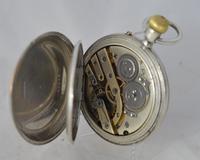 Silver Half Hunter Gents Pocket Watch (4 of 4)