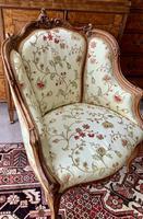 French Walnut Tub Chair (11 of 15)