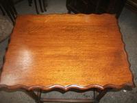 Oak Barley Twist Occasional Table (2 of 3)