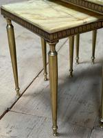 Nest 3 Onyx & Brass Tables (13 of 16)