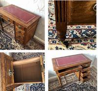 Small Arts & Crafts Oak Desk c.1907 (6 of 6)