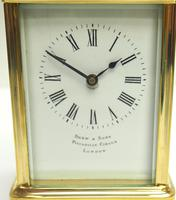 Fine Antique French 8-day Carriage Clock Timepiece by Drew & Sons London (4 of 11)