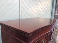 Quality Mahogany Serpentine Chest on Chest (4 of 11)