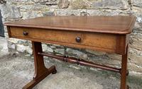 Antique Regency Mahogany Library Table (11 of 14)