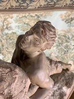 Large Terracotta Sculpture by Émile Grégoire (6 of 10)