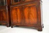 Pair of Antique Georgian Style Mahogany Bookcases (4 of 11)