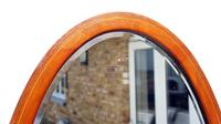 Early 20th Century Oval Overmantle Mirror 79 cm x 49 cm (10 of 11)