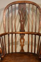 Mid 19th Century Ash & Elm High Back Windsor Armchair (5 of 7)