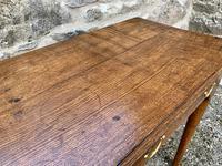 18th Century Georgian Oak Pad Foot Side Table (14 of 15)