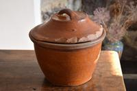 Large 19th Century Terracotta Bread Crock (4 of 10)