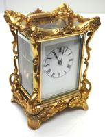 Extremely Rare 8-day Striking Carriage Repeat Feature Waterbury Clock Co c.1880 (11 of 14)
