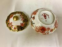 Antique Royal Crown Derby Ring Box & Cover c.1909 (4 of 6)