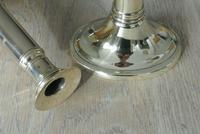 Pair of Georgian18th Century Brass Telescopic Candlesticks Styche Patent 1790-1810 (11 of 11)