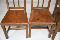 Set 5 Arts & Crafts Dining Chairs (5 of 12)