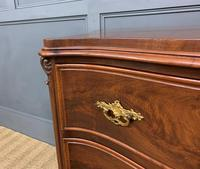 19th Century French Flame Mahogany Commode (11 of 20)