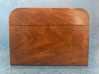 Victorian Walnut Jewellery Box with Tunbridge Ware Inlaid Bands (7 of 11)