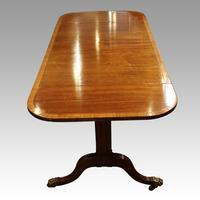 Regency Mahogany Inlaid Sofa Table (10 of 13)