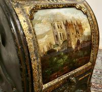Superb Regency Toleware Gilt & Reverse Painted Purdonium (7 of 7)