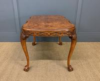 Large Sized Burr Walnut Coffee Table (11 of 11)