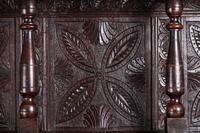 Large 18th Century Antique Carved Oak Dresser c.1740 (8 of 8)