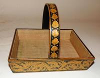 Regency Penwork Basket