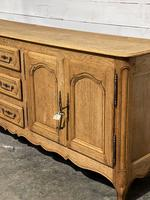 French Bleached Oak Sideboard or Dresser Base (6 of 23)