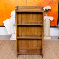 Open Bookcase Bookshelves Carved Beech Wood (7 of 7)
