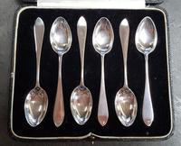 Cased Set of 6 Sterling Silver Teaspoons - 1927 (2 of 4)