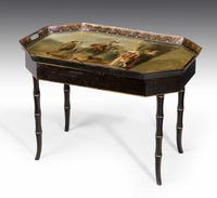 Mid-19th Century Tole Tray Table (4 of 5)