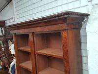Victorian Walnut Open Bookcase (2 of 3)