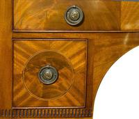George III Mahogany Bowfronted Dressing Table c1780 (4 of 7)