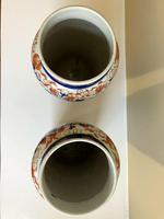 Stunning Pair Of Japanese Imari Vases, Meiji Period Antique (4 of 10)