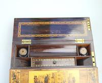 A Superior Tunbridge Ware Fitted Lap Desk Hever Castle C. 19thc (6 of 14)