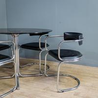 Glass & Chrome Dining Set (2 of 10)